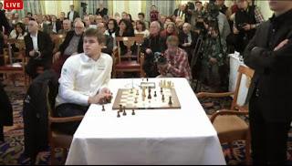 Echecs : Carlsen corrige Anand en 21 coups - Photo © site officiel