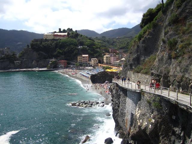 Monterosso, Cinque Terre, Italy.