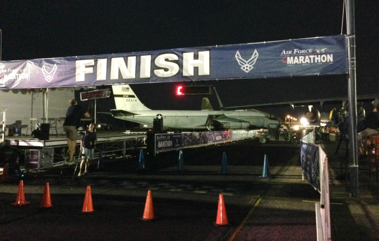 Air Force Half Marathon, MAJCOM Challenge Finish Line