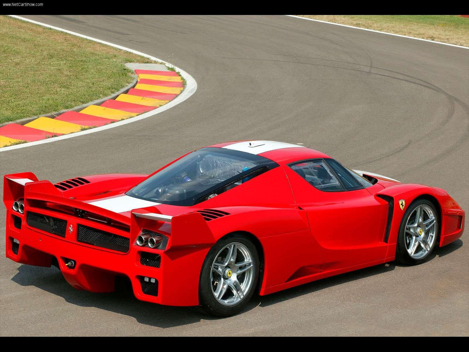 Hình ảnh siêu xe Ferrari FXX 2005 & nội ngoại thất