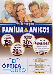 Promoção da Óptica Ouro,Temos médico oftalmologista todas as quarta-feira