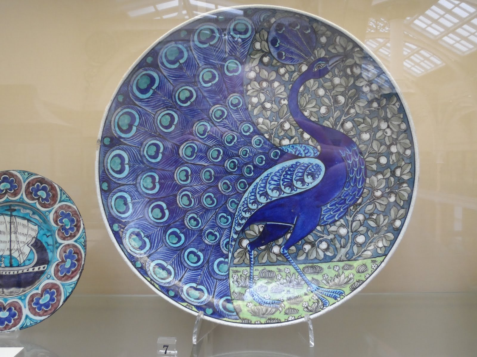 William De Morgan Iznik lustre platter