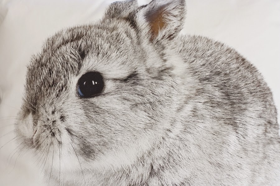 Kissen von Depot mit Hase