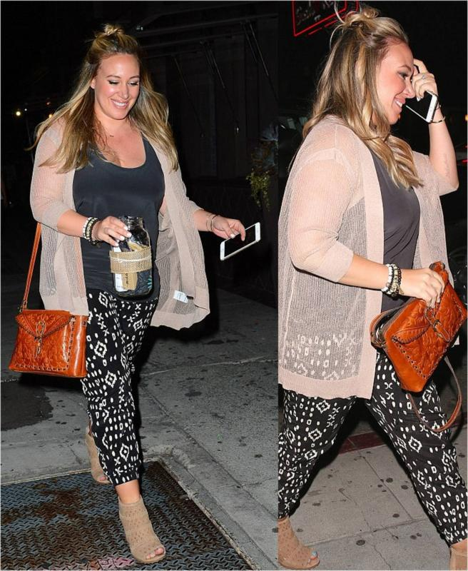 Haylie Duff August 2015