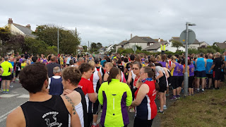 Cubert 5 mile start line
