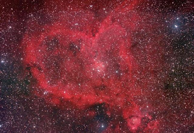 La nebulosa del Corazón