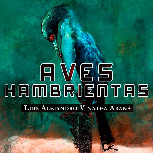 Ilustración y diseño de portada. Aves hambrientas