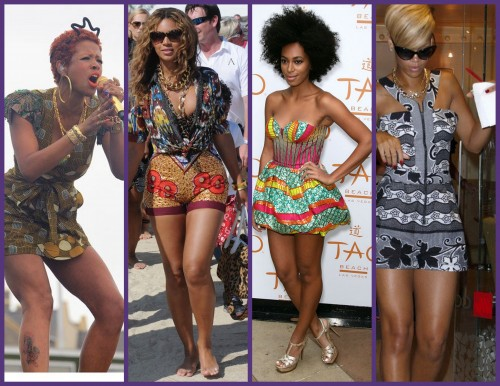 Swiss Collections Style Celebs Love African Prints