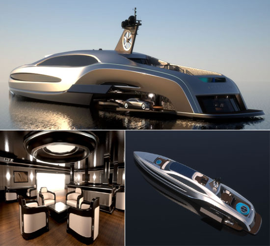 Closing Time: 'Sovereign' Superyacht