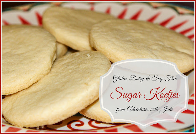 Gluten Dairy Soy Free Sugar Koetje from Adventures with Jude