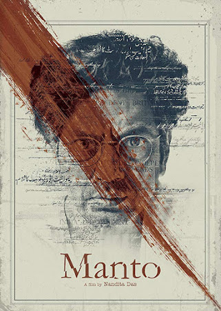 Poster Of Bollywood Movie Manto 2018 300MB Pdvd Full Hindi Movie