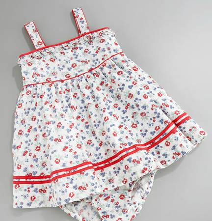 White  Dress on Designer Baby  Ralph Lauren Baby Sundress