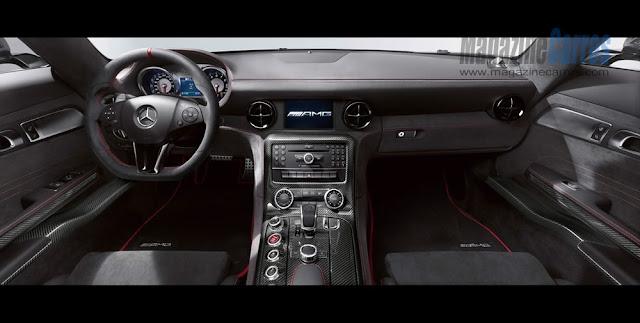 Painel do novo Mercedes-Benz SLS AMG Black Series 2014