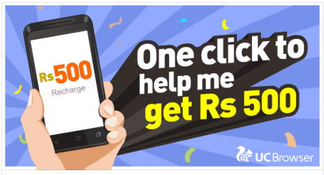500rs free recharge