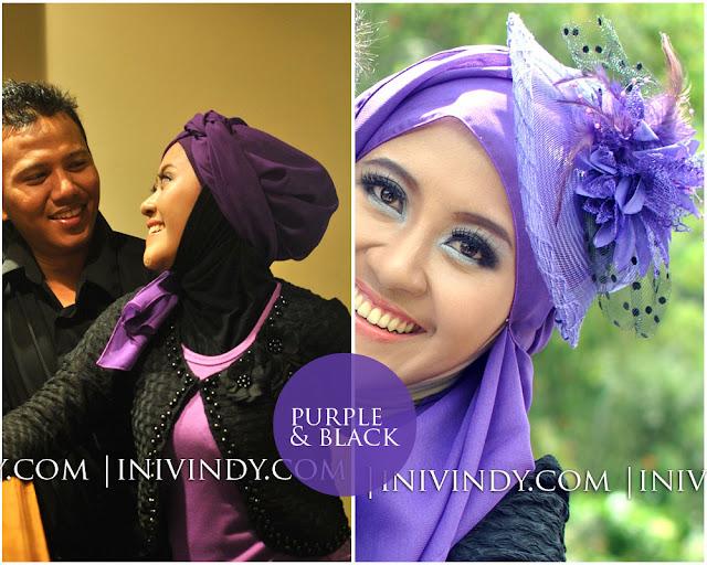 Ini Vindy Yang Ajaib: 4 Gaya Hijab dan Makeup untuk