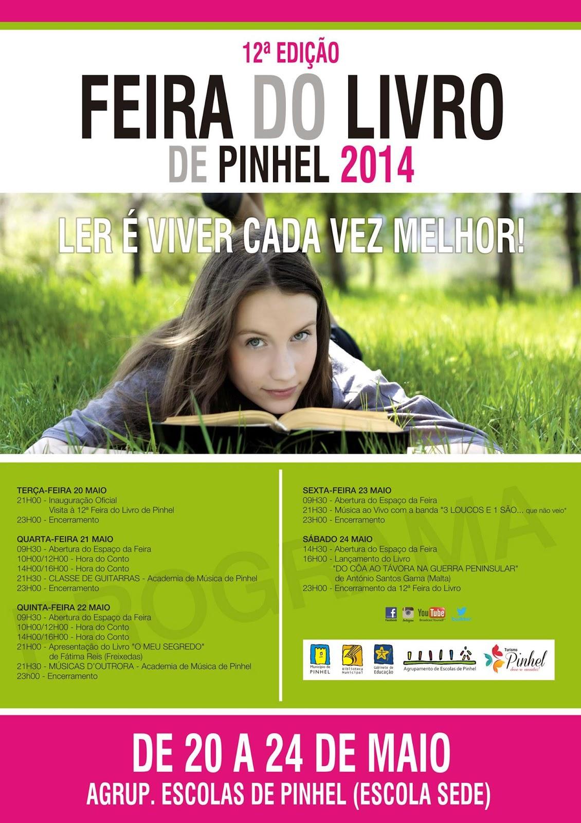 12.ª Edição Feira do Livro de Pinhel - Programa