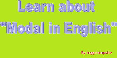 English Modal