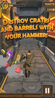 Screenshots of the Hammer Quest for Android tablet, phone.