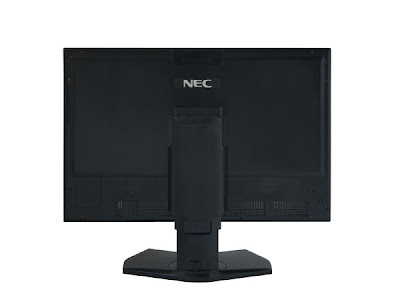 NEC SpectraView Reference 271 LCD P-IPS monitor Back