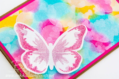 Beautiful Canvas Butterfly on a Bokeh Background