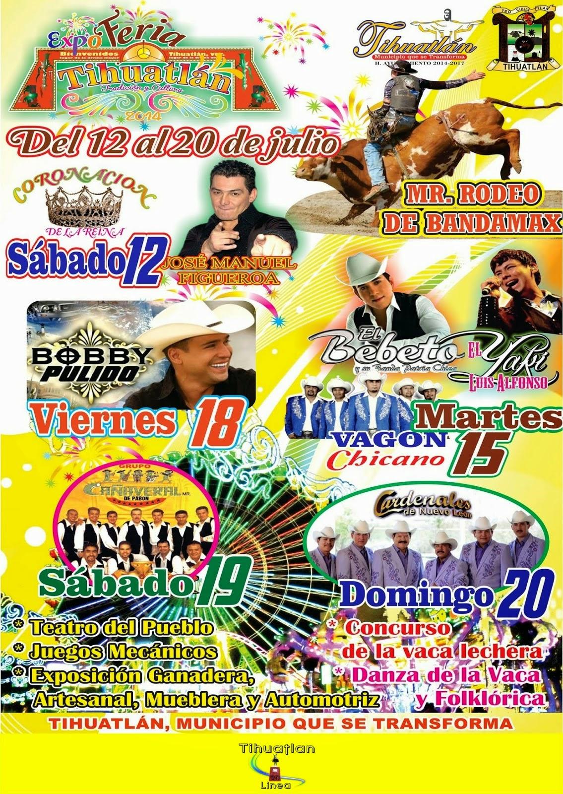 Programa Feria Tihuatlán 2014