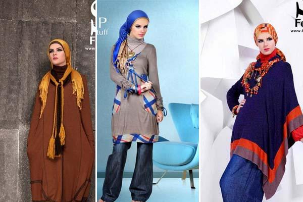 أزياء عصرية للمحجبات 2013 - أزياء محجبات 2013