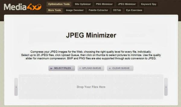 JPEG Minimizer-compresión de imagen-comprimir formatos