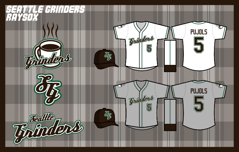 Grinders Coffee Logo. a legitimate primary logo,
