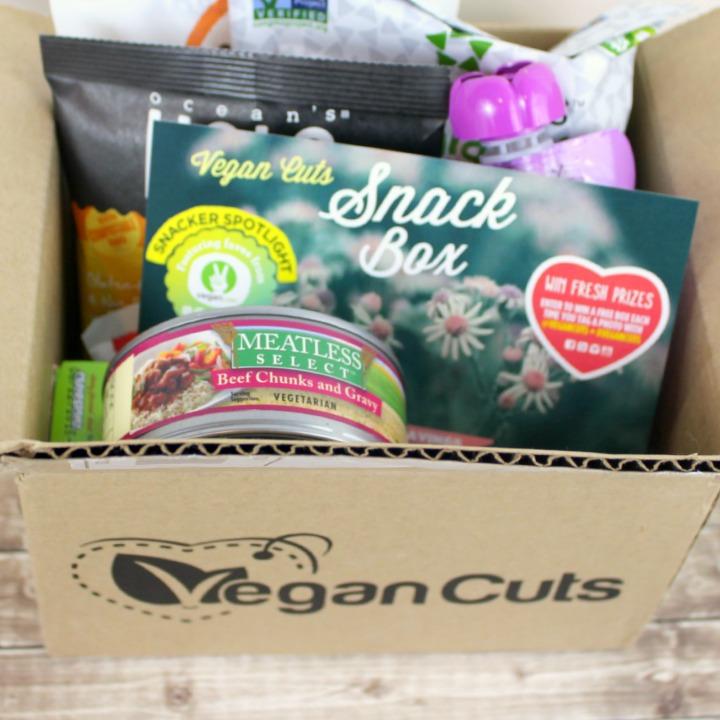 Vegan Cuts Snack Box March 2015