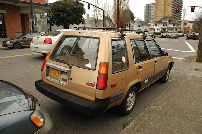 Old Parked Cars   1985 Toyota Tercel Sr5 4wd Station Wagon