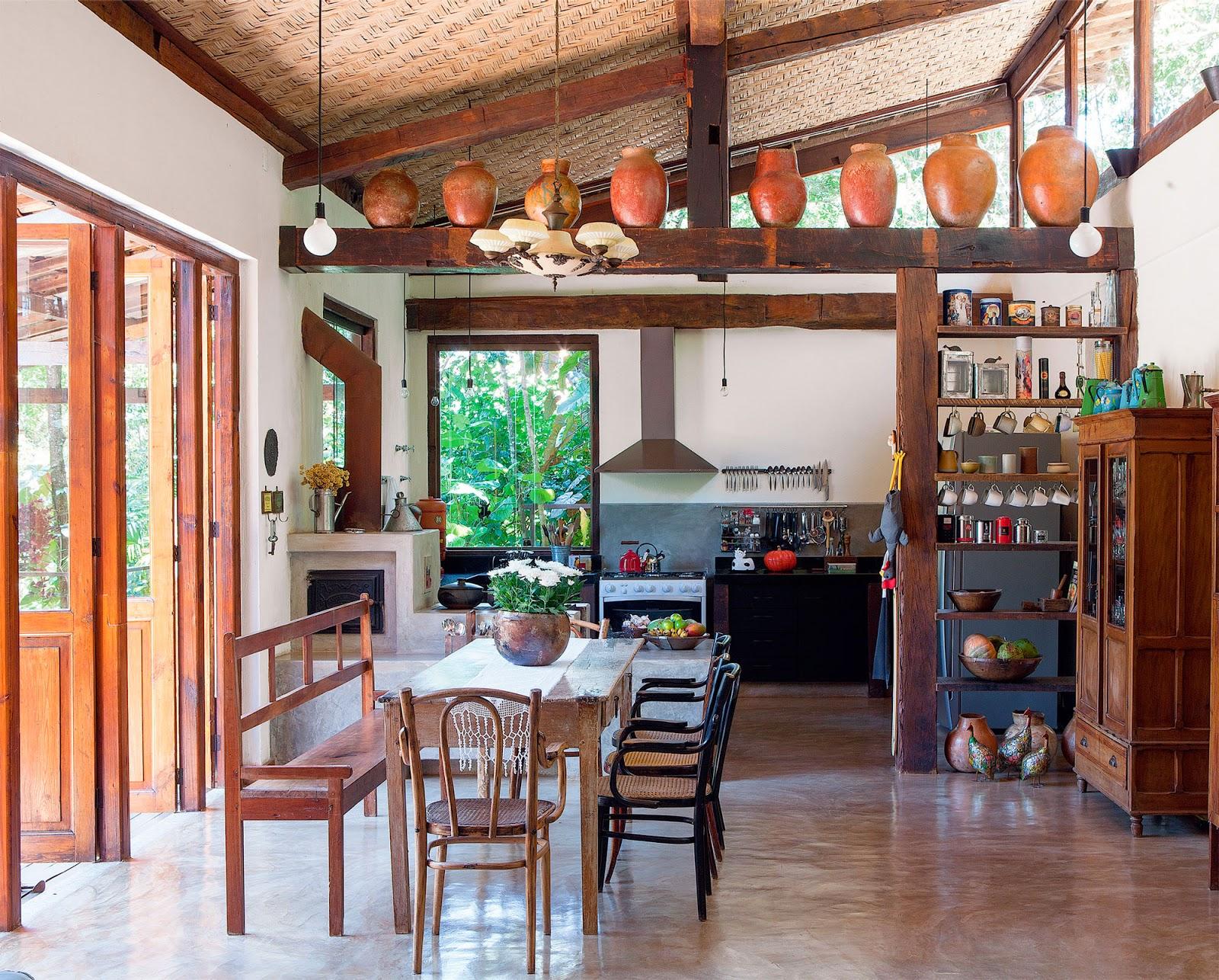 Decoração: casas de fazenda Jeito de Casa Blog de Decoração #A84E23 1600 1286