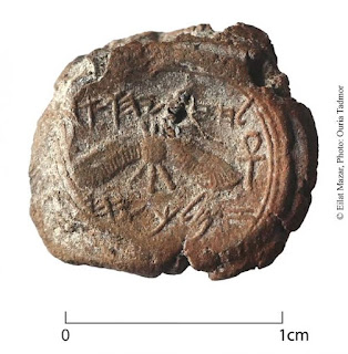 Escavação em Jerusalém revela selo de 2700 anos do rei israelita Ezequias