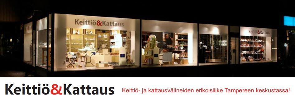 Keittiö ja kattausvälineiden erikoisliike Tampereen keskustassa  Keittiö &a