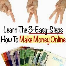 Learn The 3-Easy-Steps How To Make Money Online!!!