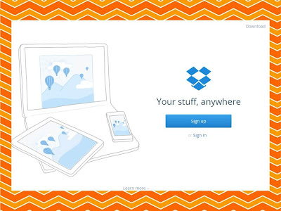 using dropbox to share school and classroom files