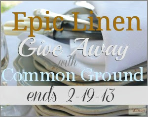 common ground, epic linen, giveaway