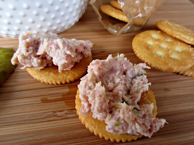 Favorite Ham Salad Spread | Renee's Kitchen Adventures Great way to use up leftover holiday ham!