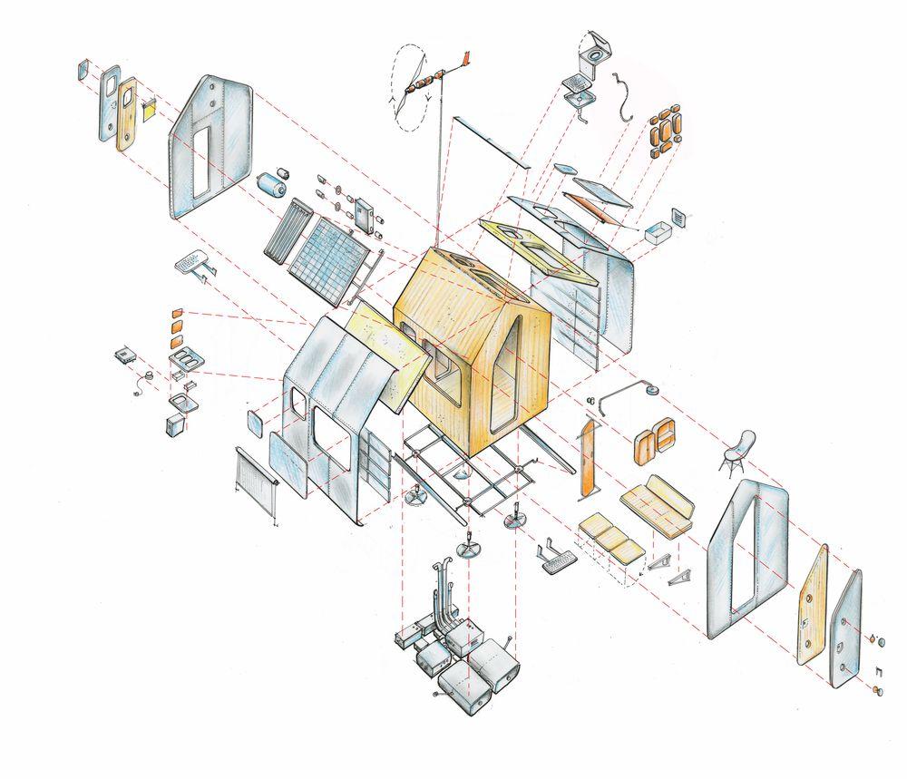 El plan z arquitectura renzo piano diogene for 2 piani piano cabina storia