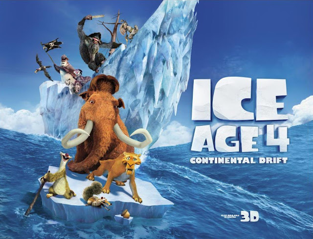 Watch Hollywood Animation movie Ice Age 4 Contental Drift online free