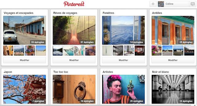 Pinterest  - epingler c'est partager