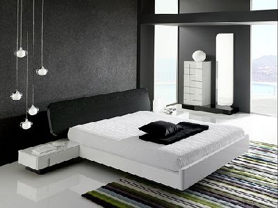 Interieur maison moderne design chambre coucher for Modele de chambre a coucher simple