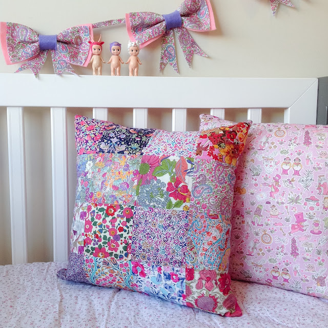 Pink Purple Cot Display