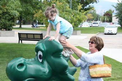 with ogopogo