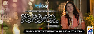 Sari Bhool Hamari Thi Episode 11, meelak.blogspot.com, 25th September 2013 On Geo Tv