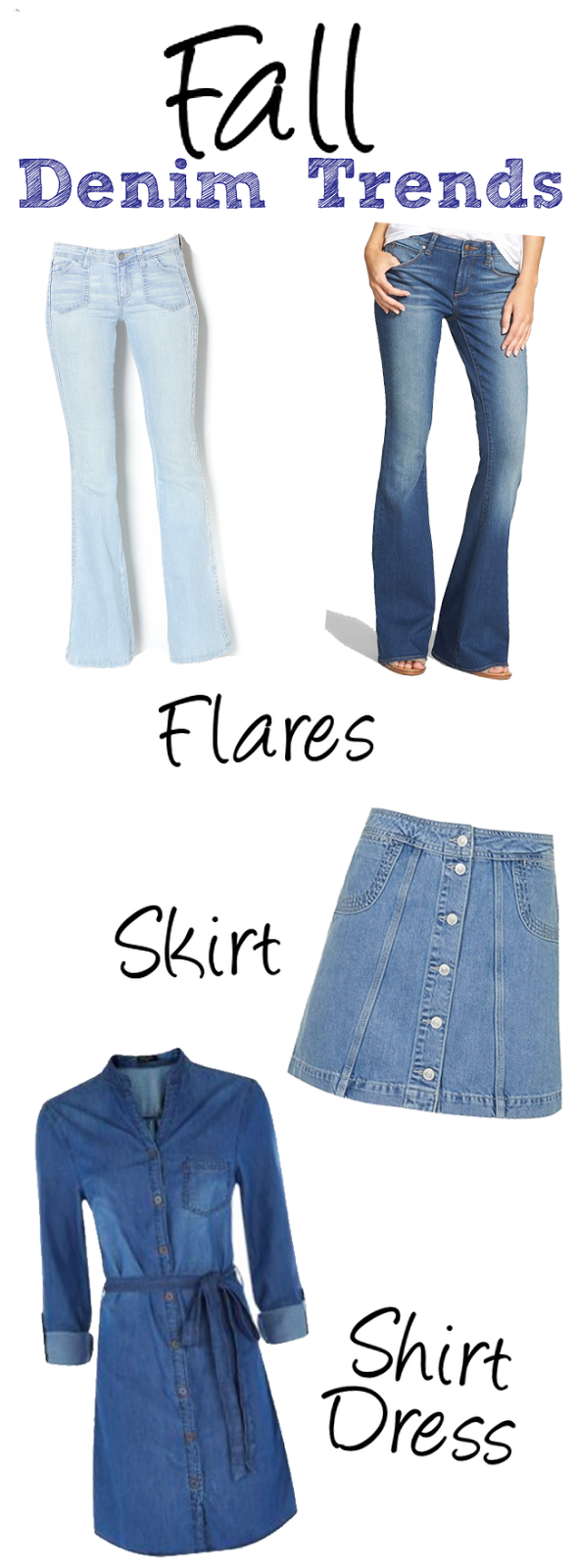 2015 Fall Denim Trends