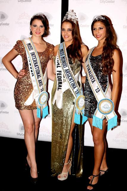 Miss Mundo World Argentina 2013 Maria Teresa Kuster