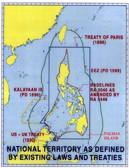 3 domains of the philippine territory