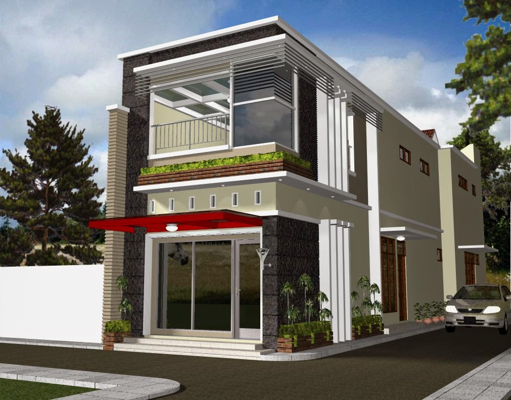 The 2 Storey Shophouse Image Design Nyoke House Design