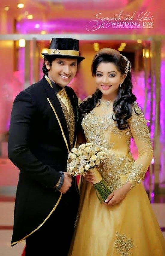 sangeeth satharasinghe and udari kawshalya wedding