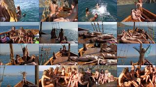 Nudist Pirate Ship Cruise (Nudist Boat Cruise). Full version.